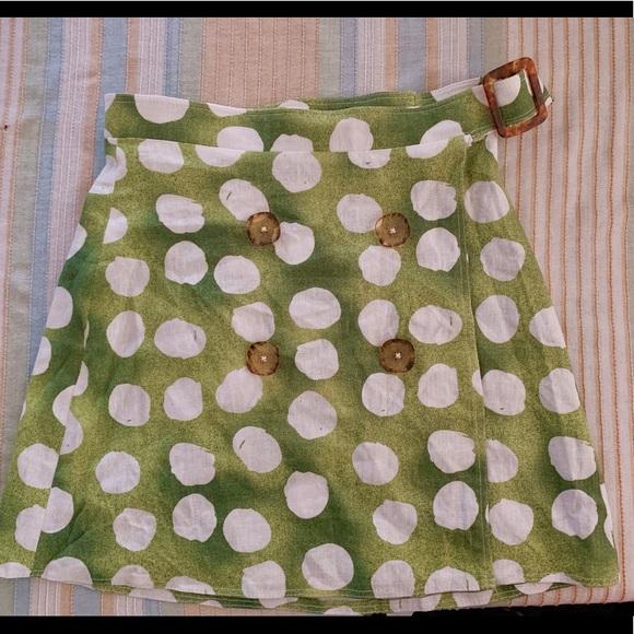 Urban Outfitters Dresses & Skirts - Linen wrap skirt
